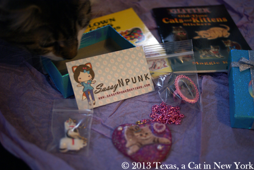 OMC! Kitty stuff!