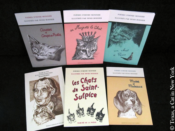 Henri Monnier's Cat Poetry & Denis Boissier's Cat Illustrations + a Giveaway!