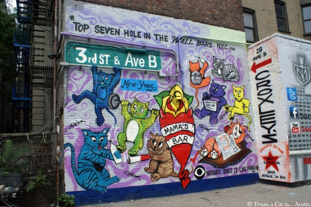 It's Caturday! Cat Mural in New York (Part 1)