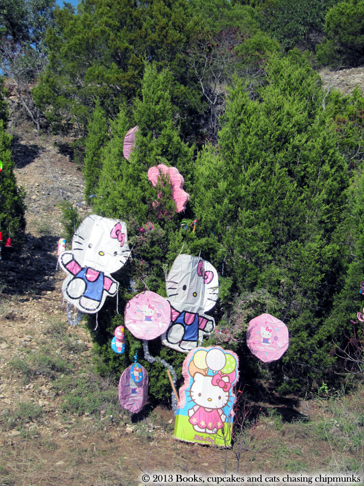 Hello Kitty Christmas Tree on Loop 360 in Austin, TX | Texas, a cat in... Austin