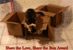 Share the Love, Share the Box Award | Texas, a cat in... Austin