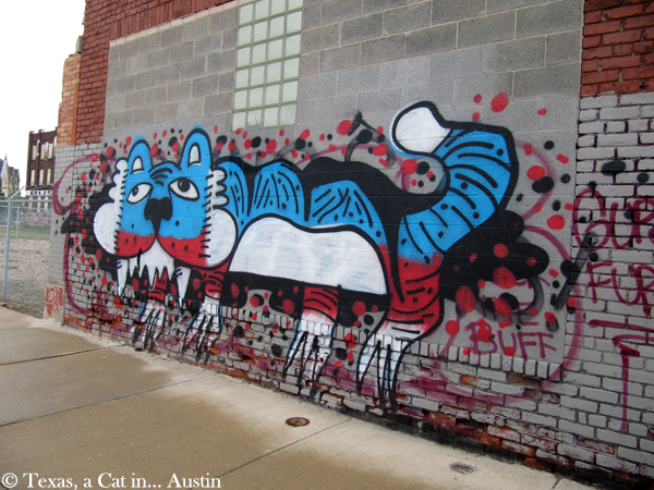 Mural in Detroit | Texas, a cat in Austin