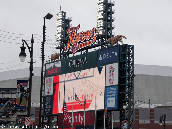 Comerica Park/Stadium in Detroit | Texas, a cat in Austin
